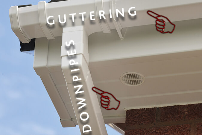 Guttering and Downpipe installation