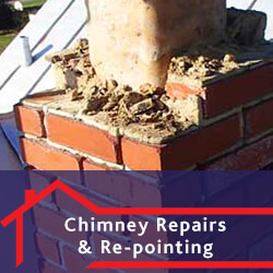 Chimney Repairs and Re-pointing