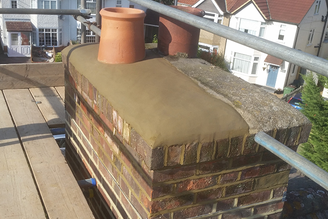 Re-flaunching-Chimney-top