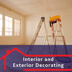 interior and exterior decorating